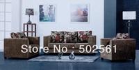 2014 new modern 1+2+3 velvet fabric sectional office sofa living room furniture U shape