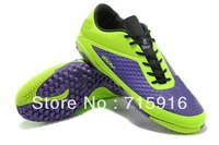 Flat Bottom football boots Matte leather broken nails soccer shoes indoor football shoes