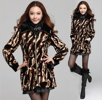 Free shipping !!!winter autumn  woolen coat,L-4XLbig size,trench,high quality