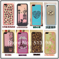 Hot New combined 3in1 travel Hard Back Cover Case for iPhone 5C Free shipping BH0025