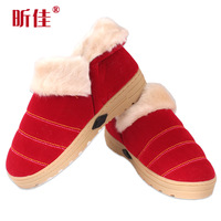 Electricity heating shoes warm feet treasure electric heater electric heating shoes warm feet shoes casual thermal cotton-padded