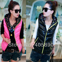 2013 Both Sides Wear Women Down Cotton Vest