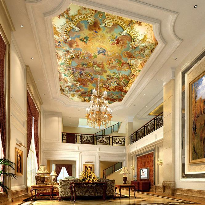 wallpaper ceilings related keywords - photo #20