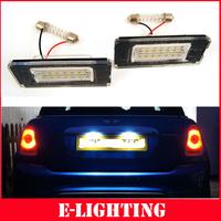LED License Plate Light Lamp Rear Registration Number Plate Lamp for MINI Cooper R56