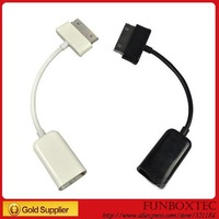 1PC,New USB female Port Cable OTG Connect Kit Adapter For Samsung Tab, BLACK