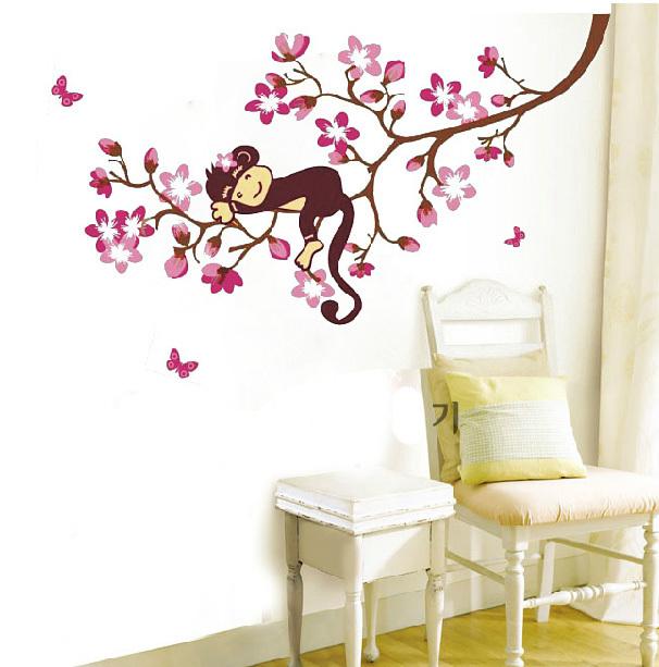 Online kopen wholesale baby room sticker tree uit china baby room sticker tree groothandel - Decoratie kamer slapen schilderij ...