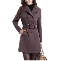 2013 women's trench quinquagenarian women's autumn outerwear plus size trench