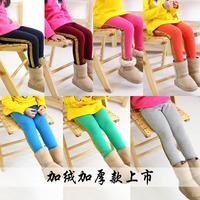 4537 Winter 100-140cm Children Kids Girls Boys Velvet Thickening Legging Pants Trousers,1 lot=5 Sizes each Color