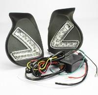 LED Daytime Running Light For Lexus CT200H DRL Daylight Auto DRL Car Fog Lamp Super Bright LED Free HK Post
