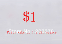 Additional Pay on Your Order/Price Make up the difference