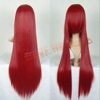 G2 dark red STRAIGHT COSPLAY WIG