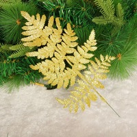 Christmas tree decoration gold leaf powder christmas decoration hangings