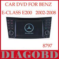 Windows CE Version Benz E200 2002 2003 2004 2005 2006 2007 2008  Car DVD Player with GPS RDS radio bluetooth car dvd