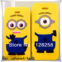 Free sipping with super milk dad eyes for iPhone4/4s/5/5s protect shell high quality