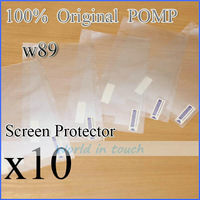 10pcs/lot!!Super quality!! POMP W89 4.7  inch original Screen Protector protect from Scratching
