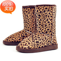 Factory direct wholesale Leopard 5825 en color in the tube snow boots warm cotton boots women boots large spot