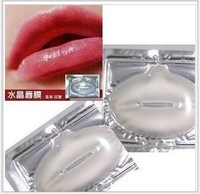 Free shipping 50 pcs/lot crystal collagen lip mask Collagen protein crystal lip film