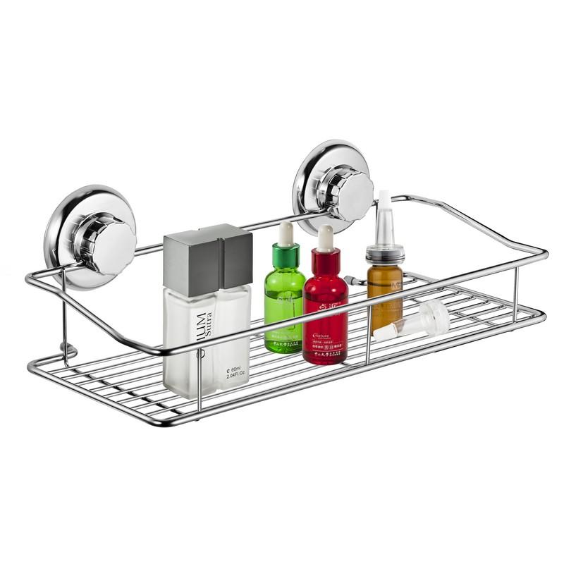 Estantes De Acero Para Baño: de la canasta de almacenamiento estante en Estantes de Baño de Casa y