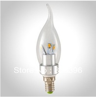 LED Candle Bulb 5630SMD 3W/4W/6W/9W E14 Warm Light  White Cold Downlight 540LM Glass Lighting