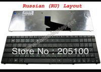 New Laptop keyboard for ASUS K53 K53E X52 X52F X52J X52JR K73 K73B K73E K73S X61 Black Russian RU Version - V118502AS1