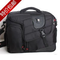 Female all-match swiss army knife laptop bag double-shoulder laptop bag backpack 14 travel bag