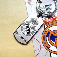 Football fans supplies Souvenirs Real Madrid Real Madrid Champions League La Liga steel engraving Keychain