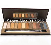 100% Original Brand Nake 12 Color Professional Eye Shadow Palette nk1 Long-Lasting Natual Easy To Wear Free Shipping