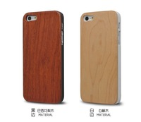 Wood For iPhone 5s Case Eco-friendly Fashion Style Cover Shell For Apple5 Phone Pure For Case iPhone 5 Free Shipping