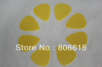 0.73mm Yellow Standard DELRIN Guitar Picks Plectrum Blank Purity Without Logo