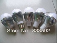 No dimmable Epistar 3W 5W 7W 9W E27 E14 LED Lamp ball Bulb GU10,E14,E27 Light white CE&ROHS Warm White/ Cool White 10PCS/LOT