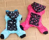 10pcs/lot  2015 factory Sale Pet dog winter thickness coat jacket hoody raincoat snow coat S-XXL LPC905-19
