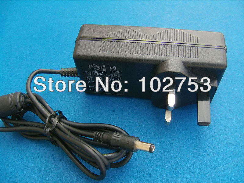 36W 220v to 12v power converter free shipping 1pcs certified 100% brand new wall mount 3a cctv power supply uk ac transformer(China (Mainland))