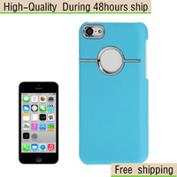 New Pasted Flannelette inner Plastic Hard Cover Case for iPhone 5C Free Shipping UPS DHL EMS CPAM HKPAM AQ-120