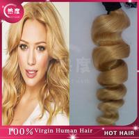 Brazilian Virgin Hair Blond Remy Hair #613 Virgin Brazilian Loose Wave Curly Hair 3pcs/lot