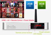 Android TV Box Quad-Core A9 4K decoding 2G RAM 8G ROM HD Smart TV Box 1080P WIFI HDMI RJ45 Media Player XBMC