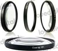 Close up Macro +1+2+4+10 SLR Lens Filter Kit Set For CANON EOS 1000D 1100D 600D 550D 500D 450D 58mm
