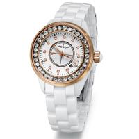 Aesop ceramic watch fashion table fashion women's watch women's waterproof quartz watch