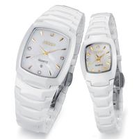 Aesop watch fashion ceramic fashion quartz watch table spermatagonial waterproof lovers watch a pair of