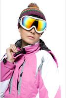 NSZ8 Snowmobile Motorcycle Ski Goggles Eyewear Frame Coloured Lens SNOWBOARD men women boy girl protect blue white black