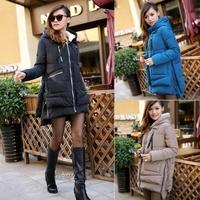 Hot-selling 2014 women's medium-long plus size plus size down cotton cotton-padded jacket design free shipping