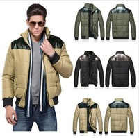 2013 Cheaper!!! Men Winter Brief Coat Fashion Parkas Good Quality M L XL XXL 6616