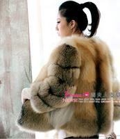 2012 women's jindao fur fox fur coat luxury fur top