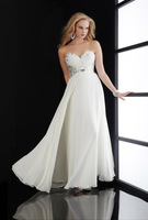 2014 Free Shipping  Newest Design Strapless Elegant Evening Dresses