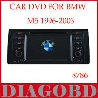 Windows CE Version for BMW M5 1996-2003 Car DVD Player with GPS RDS radio bluetooth car dvd
