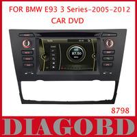 Windows CE Version for BMW E93 3 Series 2005-2012 Cabriolet Car DVD Player with GPS RDS radio bluetooth car dvd