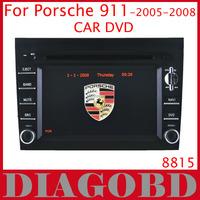 Windows CE Version for Porsche 911 2005-2008  Car DVD Player with GPS RDS radio bluetooth car dvd