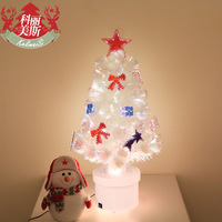 0.6m meters colorful fiber optic decoration 60cm optical fiber colorful fiber optic christmas tree Christmas decoration