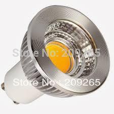 5pcs/lot 3w/5w/7w LED Silver shell COB SpotLight Bulb GU10 Cool White/Warm White 220V AC lamp Lighting #2016(China (Mainland))