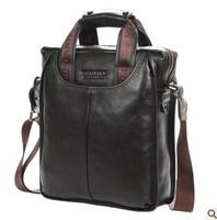 Free shipping siness aslant document men's bags,genuine leather for men's handbags, shoulder messenger bag /casual business bags