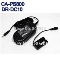 CA-PS800 adapter+DR-DC10 DC coupler for Canon SX150,SX160,IS A800 A810 A1300 Adaptador Free Ship